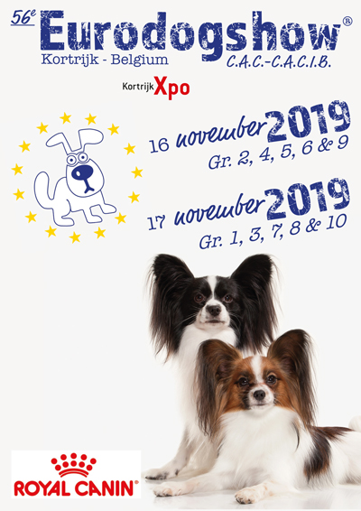 2019 - Eurodogshow Kortrijk 2019